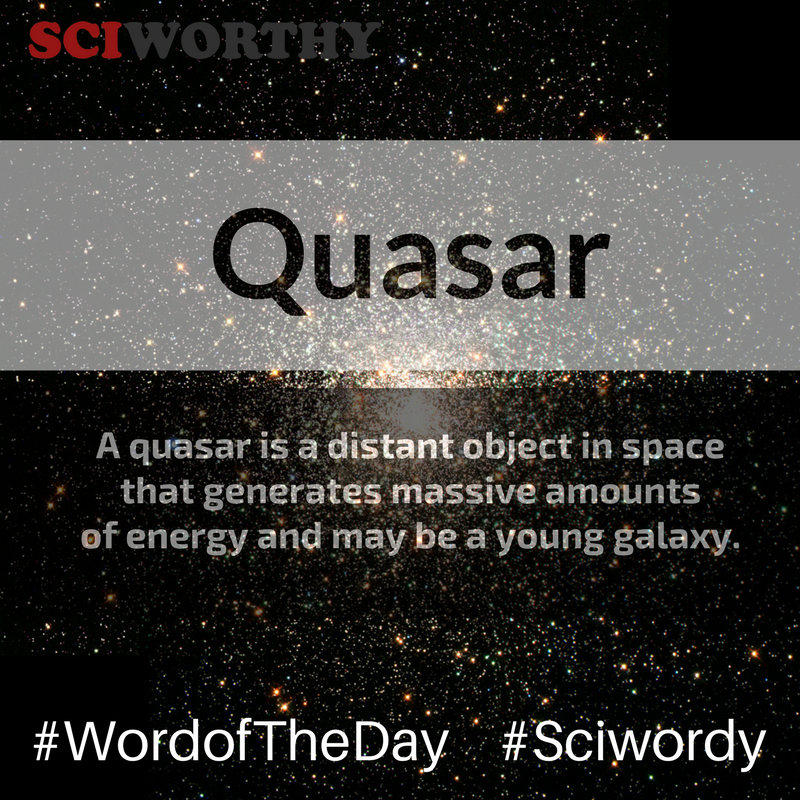 Word of the Day – Quasar
