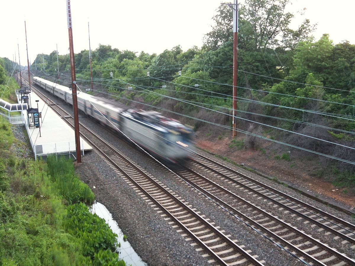 Why Trains Don't Fall Off the Track When Turning