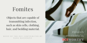 Word of the Day: Fomites