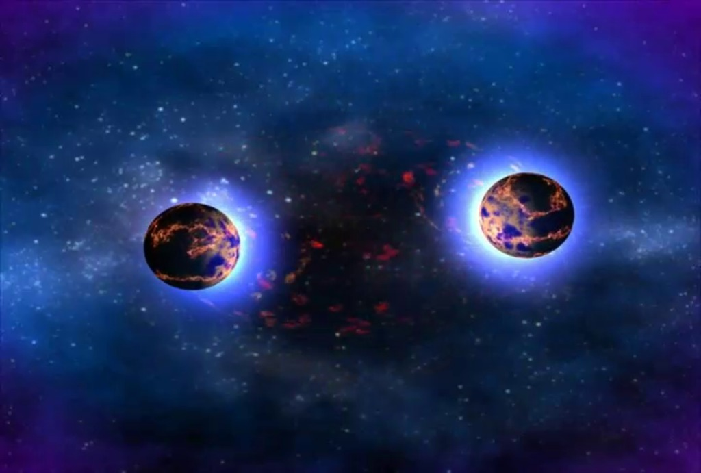 The Deafening Sound of Neutron Stars Crashing Together