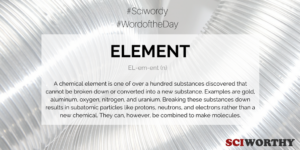 Word of the Day: Element