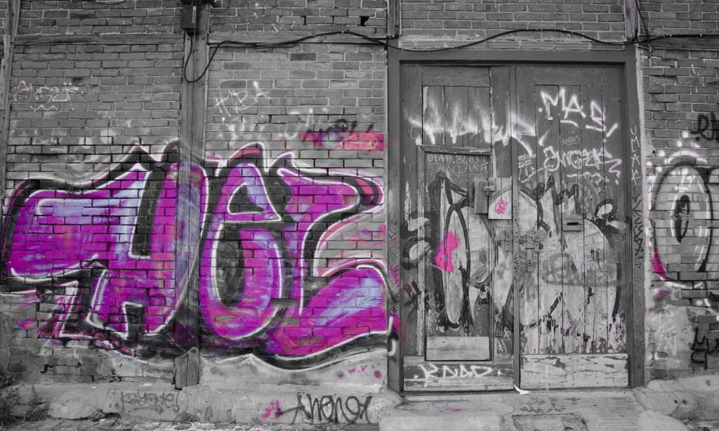 getting rid of graffiti with a two wavelength laser sciworthy