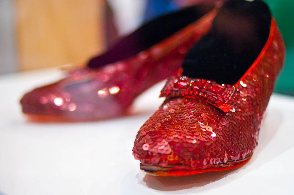 2c09c7f4edc The Ruby Slippers from the 1939 masterpiece The Wizard of Oz continue to  capture the imaginations of the young and old alike. How we sometimes wish  we could ...