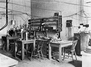 Science Lab from Early 20th Century