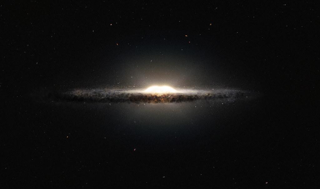 Mysterious gas found near Milky Way's center